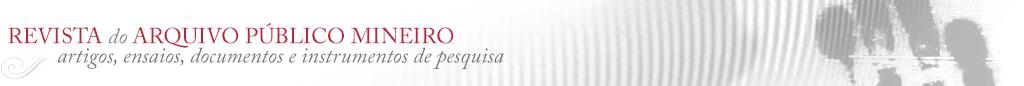 Revista do Arquivo Público Mineiro